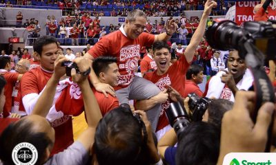 Tiebreaker Times Red Lions to hold victory party, fund-raising event Basketball NCAA News SBC  San Beda Seniors Basketball NCAA Season 93 Seniors Basketball NCAA Season 93 Jude Roque