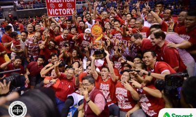 Tiebreaker Times San Beda sweeps Lyceum to continue reign Basketball LPU NCAA News SBC  Topex Robinson San Beda Seniors Basketball Robert Bolick NCAA Season 93 Seniors Basketball NCAA Season 93 Mike Nzeusseu Lyceum Seniors Basketball Jaycee Marcelino Javee Mocon Donald Tankoua Davon Potts CJ Perez Boyet Fernandez AC Soberano