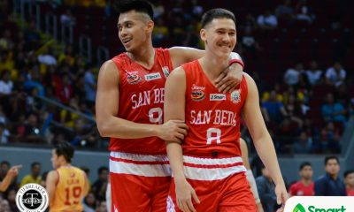 Tiebreaker Times San Beda advances to 12th straight Finals Basketball NCAA News SBC SSC-R  San Sebastian Seniors Basketball San Beda Seniors Basketball Ryan Costelo Robert Bolick NCAA Season 93 Seniors Basketball NCAA Season 93 Michael Calisaan Jayson David Javee Mocon Egay Macaraya Donald Tankoua Boyet Fernandez