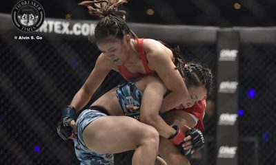 Tiebreaker Times Mei Yamaguchi derails Gina Iniong via decision Mixed Martial Arts News ONE Championship  Team Lakay Richard Corminal ONE: Immortal Pursuit Mei Yamaguchi Gina Iniong Arnaud Lepont