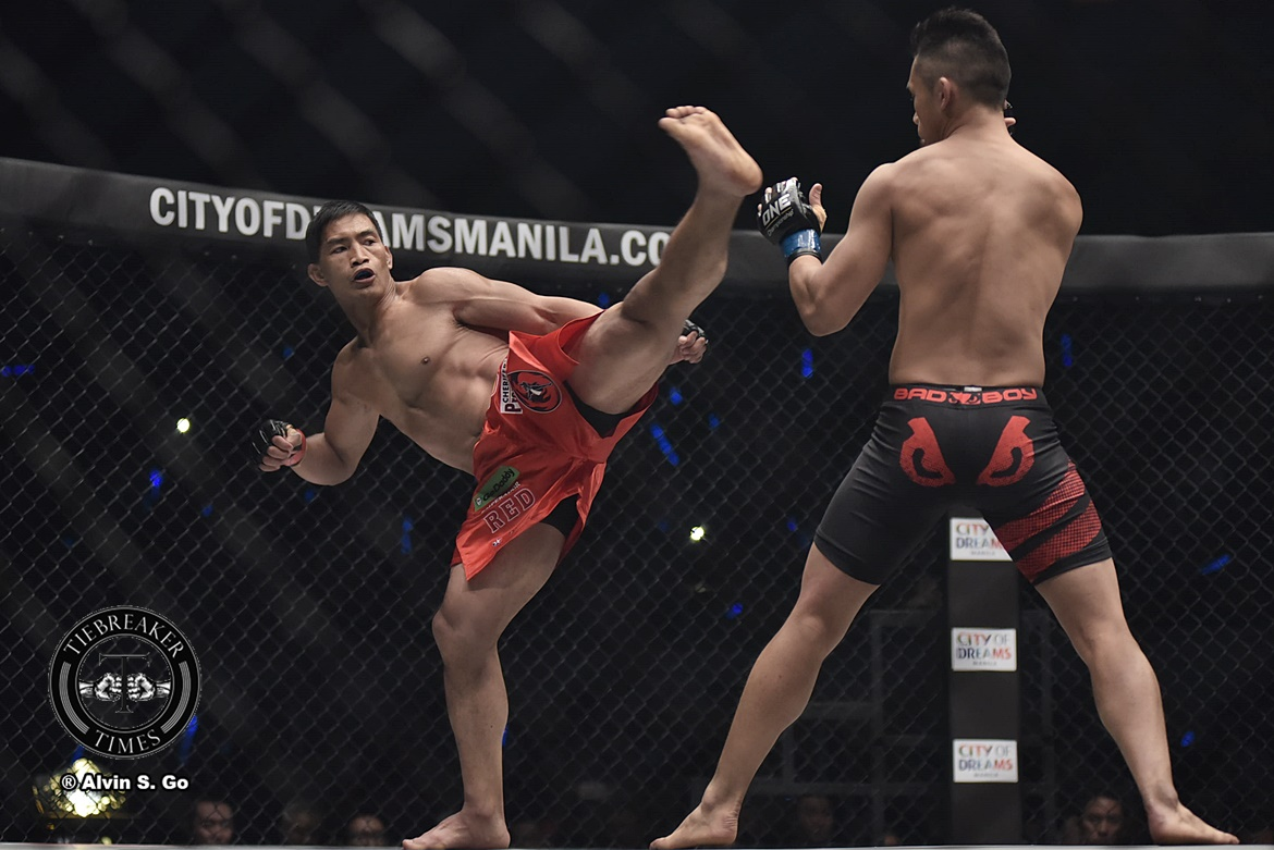 Philippine Sports News - Tiebreaker Times Eduard Folayang ready to climb up the ladder again Mixed Martial Arts News ONE Championship  Team Lakay ONE: Unstoppable Dreams Eduard Folayang