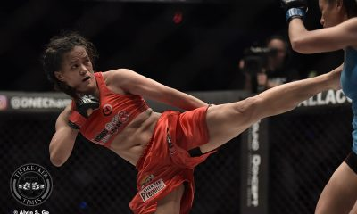 Tiebreaker Times Gina Iniong-Mei Yamaguchi II booked for Immortal Pursuit Mixed Martial Arts News ONE Championship  Team Lakay ONE: Immortal Pursuit Mei Yamaguchi Gina Iniong