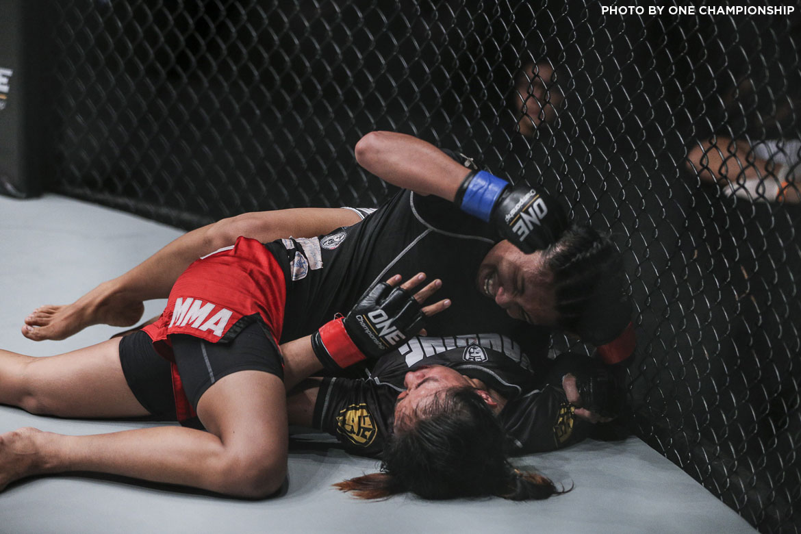 Philippine Sports News - Tiebreaker Times Jomary Torres continues winning ways; 3 Filipinos stopped in Yangon Mixed Martial Arts News ONE Championship  ONE: Hero's Dream Jomary Torres Jeremy Miado Eugene Toquero Burn Soriano
