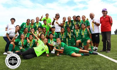 Tiebreaker Times Invincible La Salle sweeps way to historic league title ADMU DLSU FEU Football News PFF Women's League UP  Younghusband Football Academy FC Vanessa Anne Fabon UP Women's Football Tessa Bernardo Suet Simoy Sara Castaneda Portia Acibar OutKast FC Nicole Andaya Mariane Caparros Let Dimzon Kyra Dimaandal Kyla Inquig Keuts Smith Kate Dacanay John Paul Merida Jill Panganiban Irish Navaja Hiraya FC Haya Ibarra Hans-Peter Smit Fuego Espanya FC FEU Women's Football DLSU Women's Football Chelo Hodges Cecilia Dayrit Bea Delos Reyes Barbie Sobredo Ateneo Women's Football Anicka Castaneda Aiza Mondero
