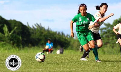 Tiebreaker Times PFFWL Roundup: 12 wins in a row for perfect DLSU; UST, FEU complete top three ADMU DLSU FEU Football News PFF Women's League UP UST  Younghusband Football Academy FC UST Women's Football UP Women's Football Tessa Bernardo Shelah Mae Cadag Sara Castaneda Nina Yanto MJ Indac Mae Ann Caw-It Let Dimzon Kyra Dimaandal Kyla Inquig Jovelle Sudaria Hiraya FC Hazel Lustan Hans-Peter Smit Green Archers United FEU Women's Football DLSU Women's Football Cecilia Dayrit BG Sta. Clara Ateneo Women's Football Anicka Castaneda Aging Rubio