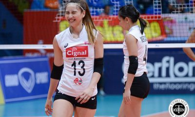 Tiebreaker Times Cignal prevails over Sta. Lucia in battle of limping squads News PSL  Sta. Lucia Lady Realtors Royse Tubino Pam Lastimosa Jheck Dionela Jerry Yee George Pascua Cignal HD Spikers Chie Saet Bohdana Anisova Alexis Matthews 2017 PSL Season 2017 PSL Grand Prix