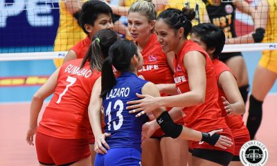 Tiebreaker Times Cocolife slips past gritty UST, claims second win News PSL UST Volleyball  Victoria Sports-UST Tigresses UST Women's Volleyball Taylor Milton Shar Manu-Olevao Sara Gonzales Paul John Dolorias Mary Pacres Kungfu Reyes Denden Lazaro Cocolife Asset Managers Chooks-to-Go Carla Sandoval 2017 PSL Season 2017 PSL Grand Prix