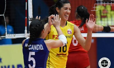 Tiebreaker Times F2 Logistics cruises to sixth straight win; Cignal loses Jovelyn Gonzaga News PSL Volleyball  Ramil De Jesus Maria Jose Perez Kim Fajardo Kennedy Bryan George Pascua F2 Logistics Cargo Movers Dawn Macandili Cignal HD Spikers Chooks-to-Go Beth Carey Alexis Matthews 2017 PSL Season 2017 PSL Grand Prix