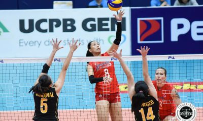Tiebreaker Times Petron washes off first loss, whips UST News PSL UST Volleyball  Yuri Fukuda Yukie Inamasu Victoria Sports-UST Tigresses UST Women's Volleyball Shaq delos Santos Rhea Dimaculangan Remy Palma Petron Blaze Spikers Paul Jan Dolorias Mary Pacres Chooks-to-Go Aiza Maizo-Pontillas 2017 PSL Season 2017 PSL Grand Prix
