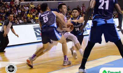 Tiebreaker Times Jerie Pingoy continues to rack up the steals ADMU Basketball News UAAP  UP Men's Basketball UAAP Season 80 Men's Basketball UAAP Season 80 Jerie Pingoy Franz Pumaren