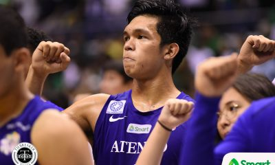Tiebreaker Times VIDEO: Thirdy Ravena knocks down buzzer-beater to sink Greece U21 team ADMU Basketball News  Thirdy Ravena Raffy Verano Matt Nieto Greece (Basketball) Epok Quimpo Ateneo Men's Basketball