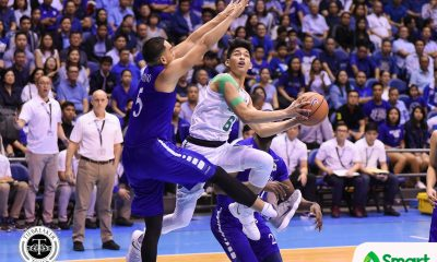 Tiebreaker Times Not Today: La Salle completes epic comeback to force Game 3 ADMU Basketball DLSU News UAAP  UAAP Season 80 Men's Basketball UAAP Season 80 Thirdy Ravena Tab Baldwin Matt Nieto Isaac Go DLSU Men's Basketball Ben Mbala Ateneo Men's Basketball Anton Asistio Andrei Caracut Aljun Melecio Aldin Ayo Aaron Black