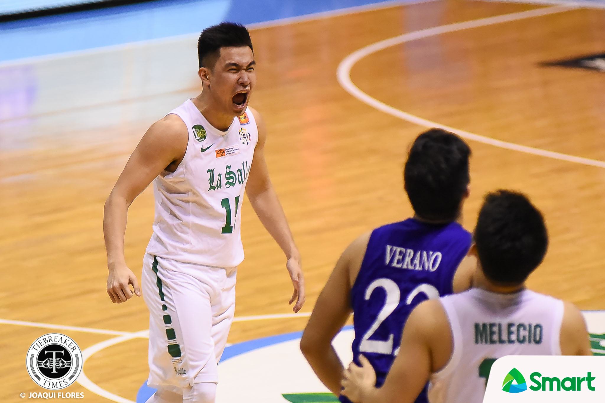 Philippine Sports News - Tiebreaker Times Kib Montalbo settles down, bounces back against Ateneo Basketball DLSU News UAAP  UAAP Season 80 Men's Basketball UAAP Season 80 Kib Montalbo DLSU Men's Basketball Aldin Ayo