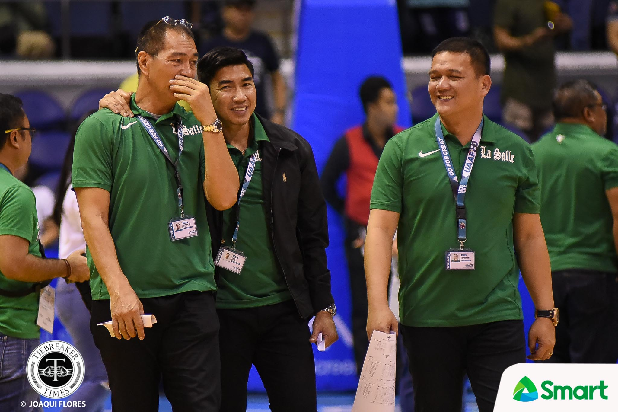 Philippine Sports News - Tiebreaker Times Green Archers move on from Aldin Ayo; Luis Gonzalez to be named as head coach Basketball DLSU News UAAP  UAAP Season 80 Men's Basketball UAAP Season 80 Louie Gonzalez Glenn Capacio Eduardo Cojuangco Jr. DLSU Men's Basketball Aldin Ayo