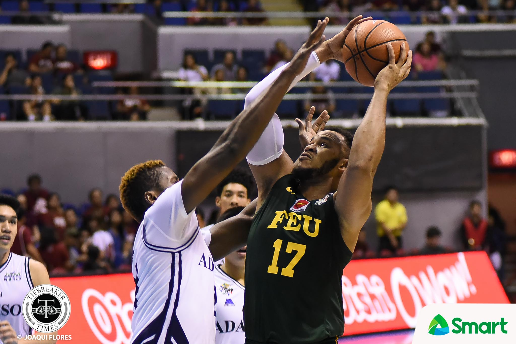 Philippine Sports News - Tiebreaker Times With their backs against the wall, Tamaraws played like brothers says Prince Orizu Basketball FEU News UAAP  UAAP Season 80 Men's Basketball UAAP Season 80 Richard Escoto Prince Orizu Olsen Racela FEU Men's Basketball Arvin Tolentino