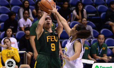 Tiebreaker Times Lady Tamaraws' balanced attack sends Lady Eagles packing ADMU Basketball FEU News UAAP  UAAP Season 80 Women's Basketball UAAP Season 80 Precious Arellado John Flores Isabel Balleser Hazelle Yam FEU Women's Basketball Bert Flores Ateneo Women's Basketball