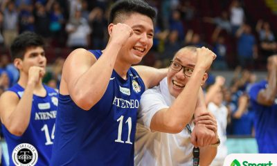 Tiebreaker Times Isaac Go does not let Tab Baldwin, Ateneo down ADMU Basketball News UAAP  UAAP Season 80 Men's Basketball UAAP Season 80 Sandy Arespacochaga Isaac Go Ateneo Men's Basketball