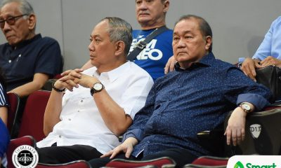 Tiebreaker Times MVP expresses confidence in Yeng Guiao, lauds Scottie Thompson 2019 FIBA World Cup Qualifiers Basketball Gilas Pilipinas News  Yeng Guiao Scottie Thompson Manny V. Pangilinan Gilas Elite 2019 FIBA World Cup Qualifiers