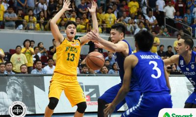 Tiebreaker Times Split second proves to be the difference for Arvin Tolentino Basketball FEU News UAAP  UAAP Season 80 Men's Basketball UAAP Season 80 FEU Men's Basketball Arvin Tolentino
