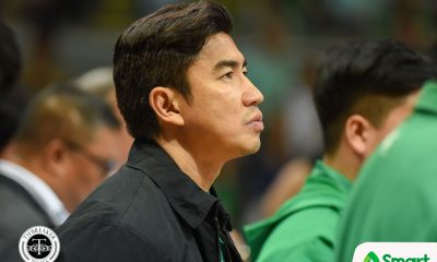 Tiebreaker Times Aldin Ayo grateful for opportunity given by Boss ECJ Basketball DLSU News  Eduardo Cojuangco Jr. DLSU Men's Basketball Aldin Ayo