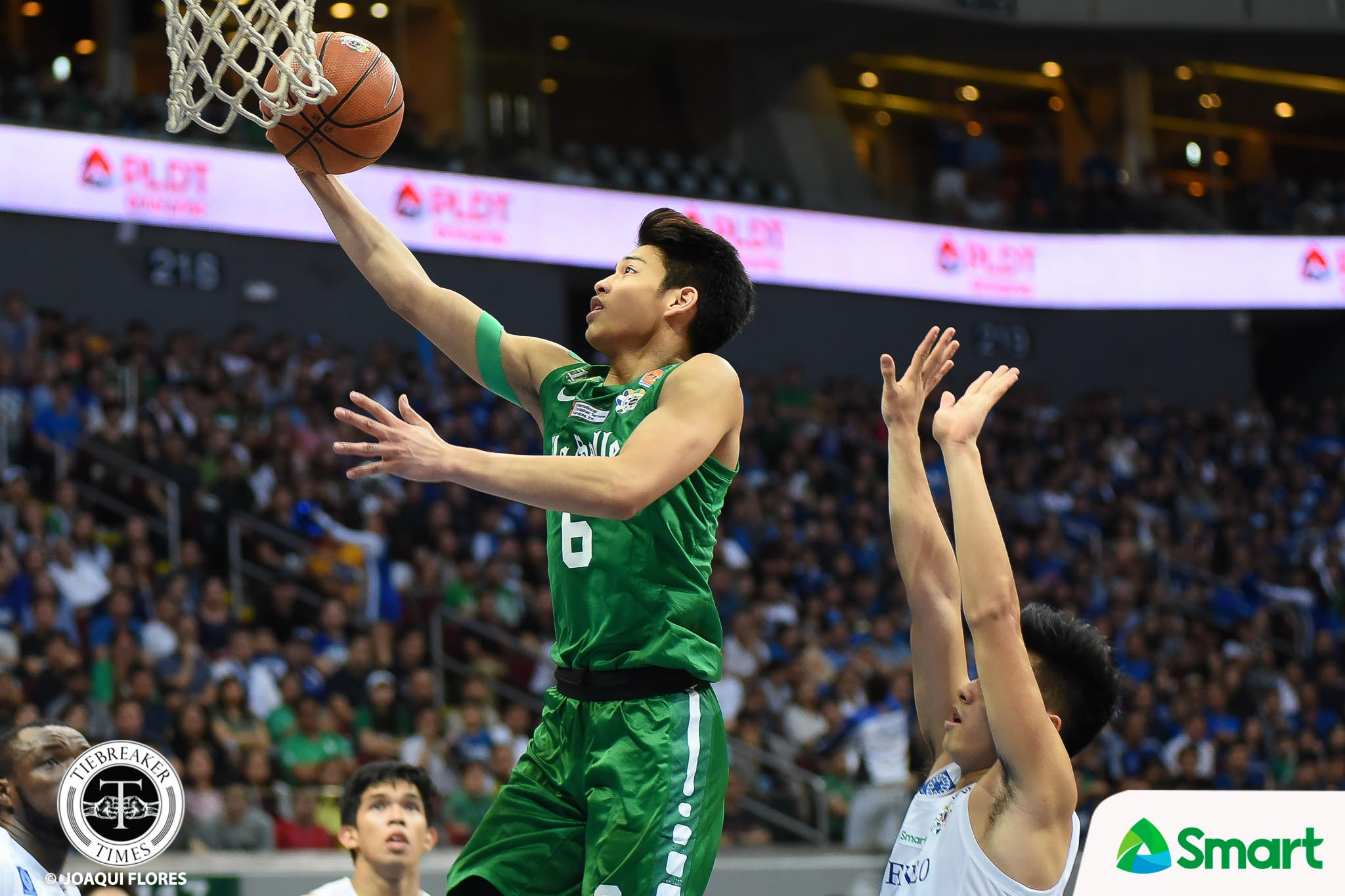 Philippine Sports News - Tiebreaker Times UAAP looks to summon select Green Archers prior to Game 2 ADMU Basketball DLSU News UAAP  UAAP Season 80 Men's Basketball UAAP Season 80 Tab Baldwin Ricci Rivero DLSU Men's Basketball Ateneo Men's Basketball Aljun Melecio Abu Tratter