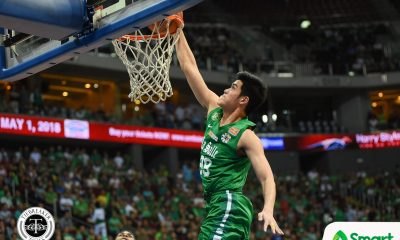 Tiebreaker Times Tab Baldwin gives Santi Santillan high praise: 'He's quickly becoming one of my favorite players' ADMU Basketball DLSU News  Tab Baldwin Santi Santillan DLSU Men's Basketball Ateneo Men's Basketball 2018 Filoil Premier Cup