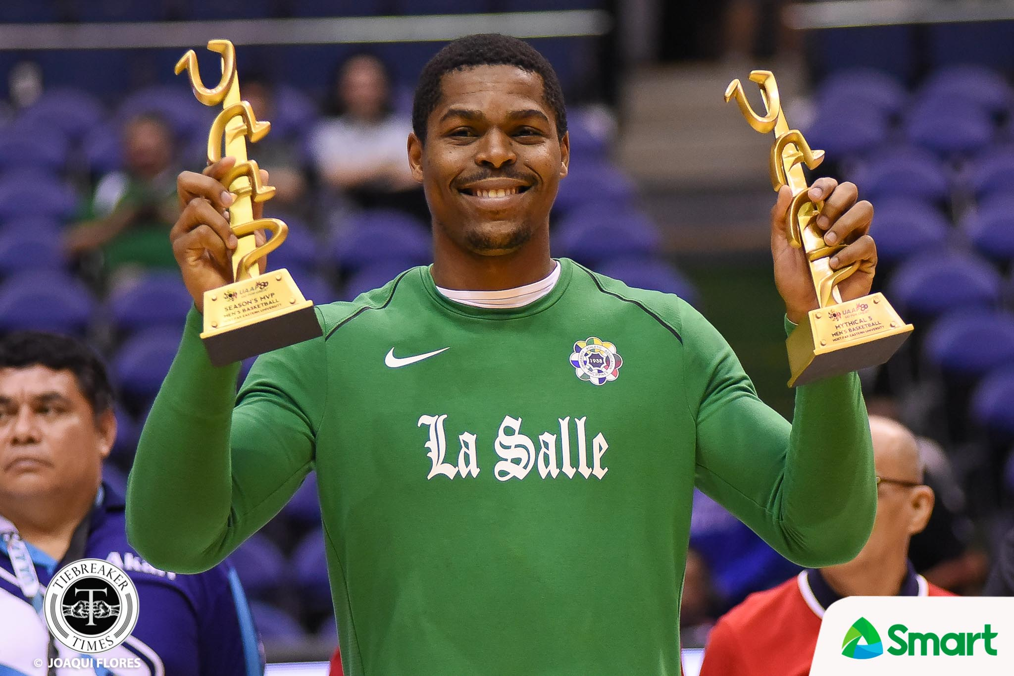 UAAP-80-Mens-Basketball-Awarding-Ben-Mbala-1005 Ben Mbala's first choice was Ateneo, has no regrets with La Salle ADMU Basketball DLSU News UAAP  - philippine sports news