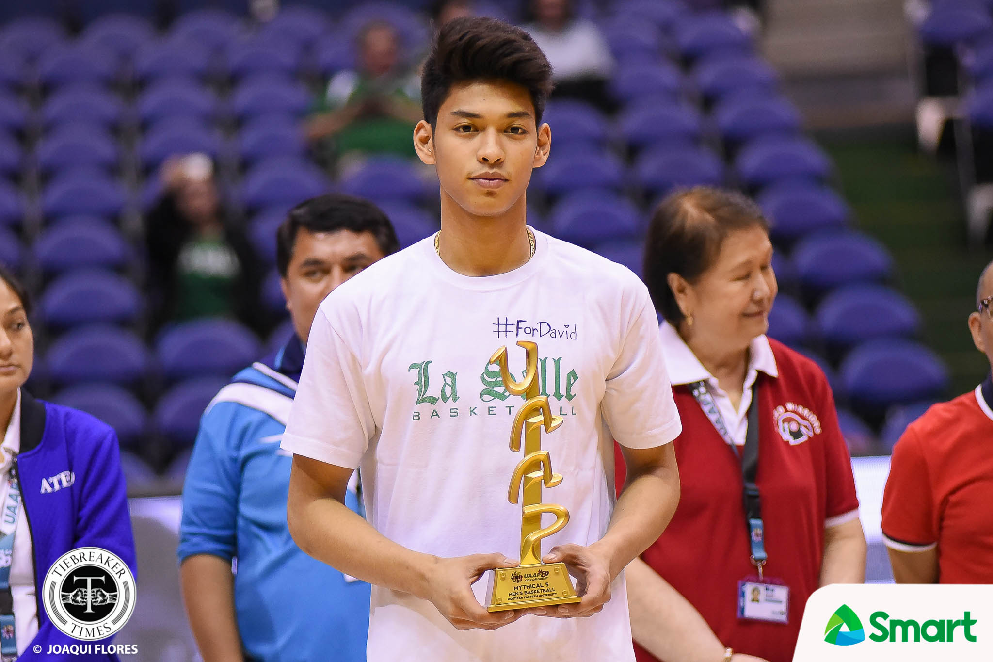 Tiebreaker Times Ricci Rivero almost studied and played in the US twice Basketball DLSU News UAAP UP  UP Men's Basketball UAAP Season 82 Ricci Rivero DLSU Men's Basketball