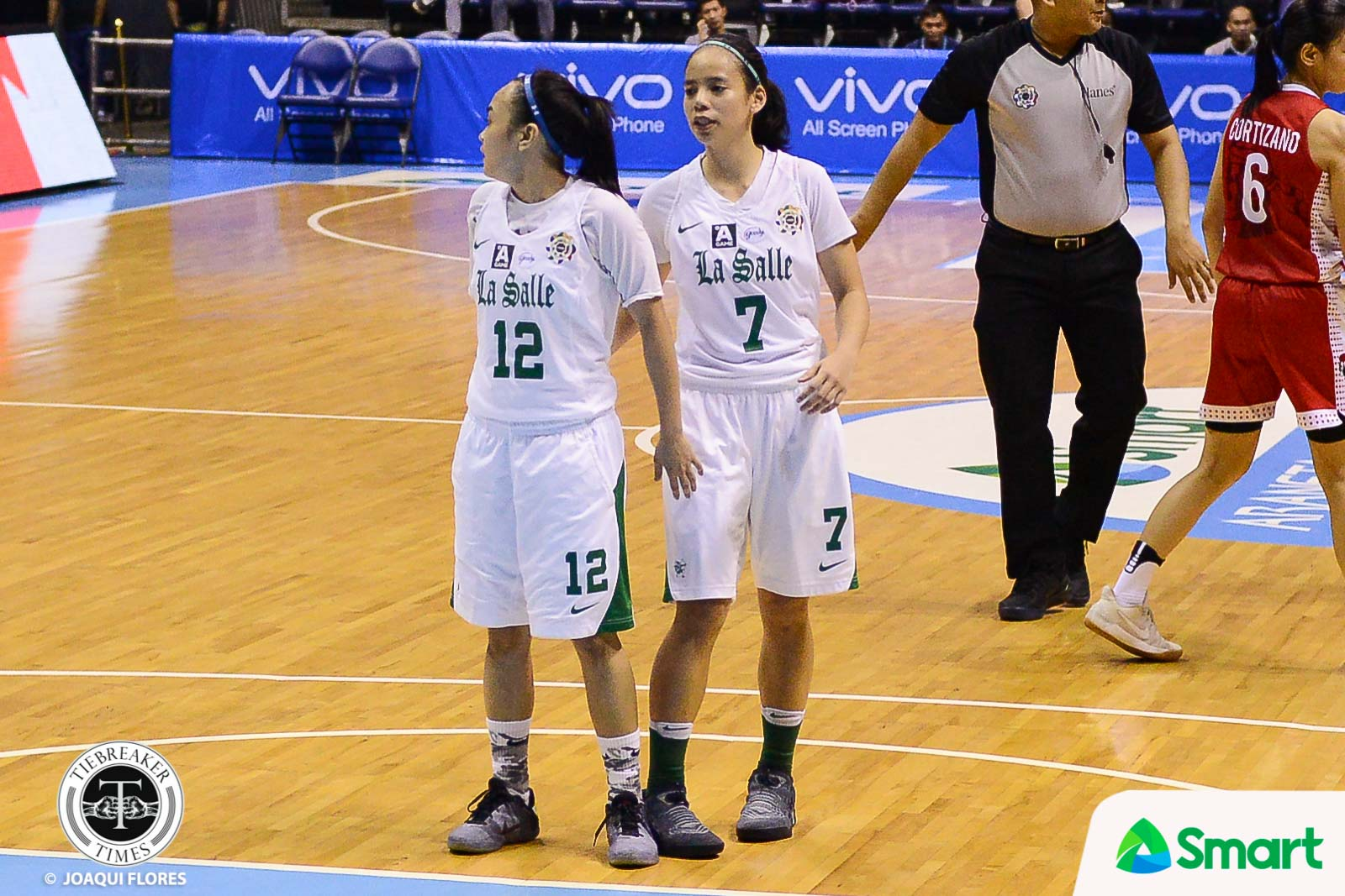 Philippine Sports News - Tiebreaker Times La Salle escapes listless UP to end season on high note Basketball DLSU News UAAP UP  UP Women's Basketball UAAP Season 80 Women's Basketball UAAP Season 80 Therese Medina Khate Castillo Kenneth Raval Kath Nunez Iriss Isip DLSU Women's Basketball Cholo Villanueva