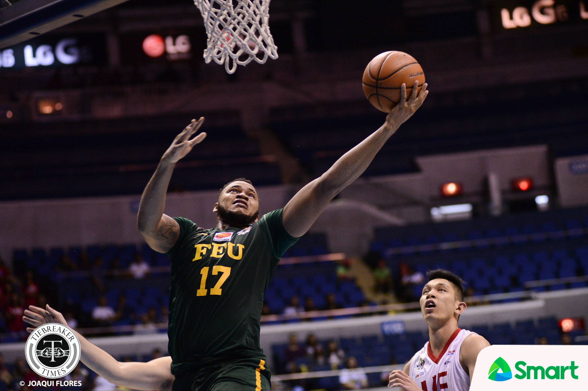 Philippine Sports News - Tiebreaker Times FEU arrests two-game skid, ends UE's playoff hopes Basketball FEU News UAAP UE  UE Men's Basketball UAAP Season 80 Men's Basketball UAAP Season 80 Prince Orizu Olsen Racela Mark Olayon Jasper Parker FEU Men's Basketball Derrick Pumaren Arvin Tolentino Alvin Pasaol