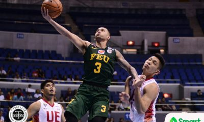 Tiebreaker Times With family watching, Jasper Parker steers Tamaraws to crucial win Basketball FEU News UAAP  UAAP Season 80 Men's Basketball UAAP Season 80 Olsen Racela Jasper Parker FEU Men's Basketball