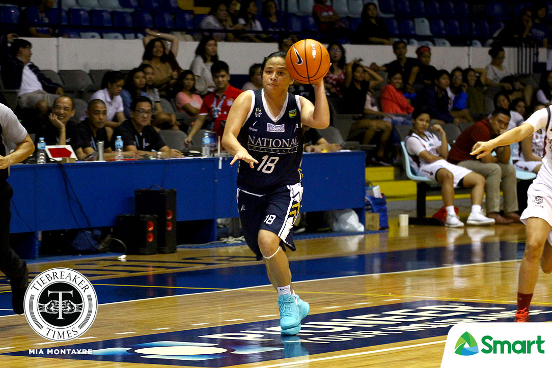 Tiebreaker Times Patrick Aquino-less NU extends unbeaten streak to 60 games with UP rout Basketball News NU UAAP UP  UP Women's Basketball UAAP Season 80 Women's Basketball UAAP Season 80 Rhena Itesi NU Women's Basketball Marian Domingo Kenneth Raval Je-anne Camelo Jack Animam Iriss Isip Aris Dimaunahan