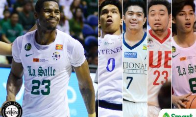 Tiebreaker Times Ben Mbala runs away with second MVP crown ADMU AdU Basketball DLSU News NU UAAP UE UP UST  UAAP Season 80 Men's Basketball UAAP Season 80 Thirdy Ravena Steve Akomo Ricci Rivero Papi Sarr Juan Gomez De Liano J-Jay Alejandro Issa Gaye Ben Mbala Alvin Pasaol