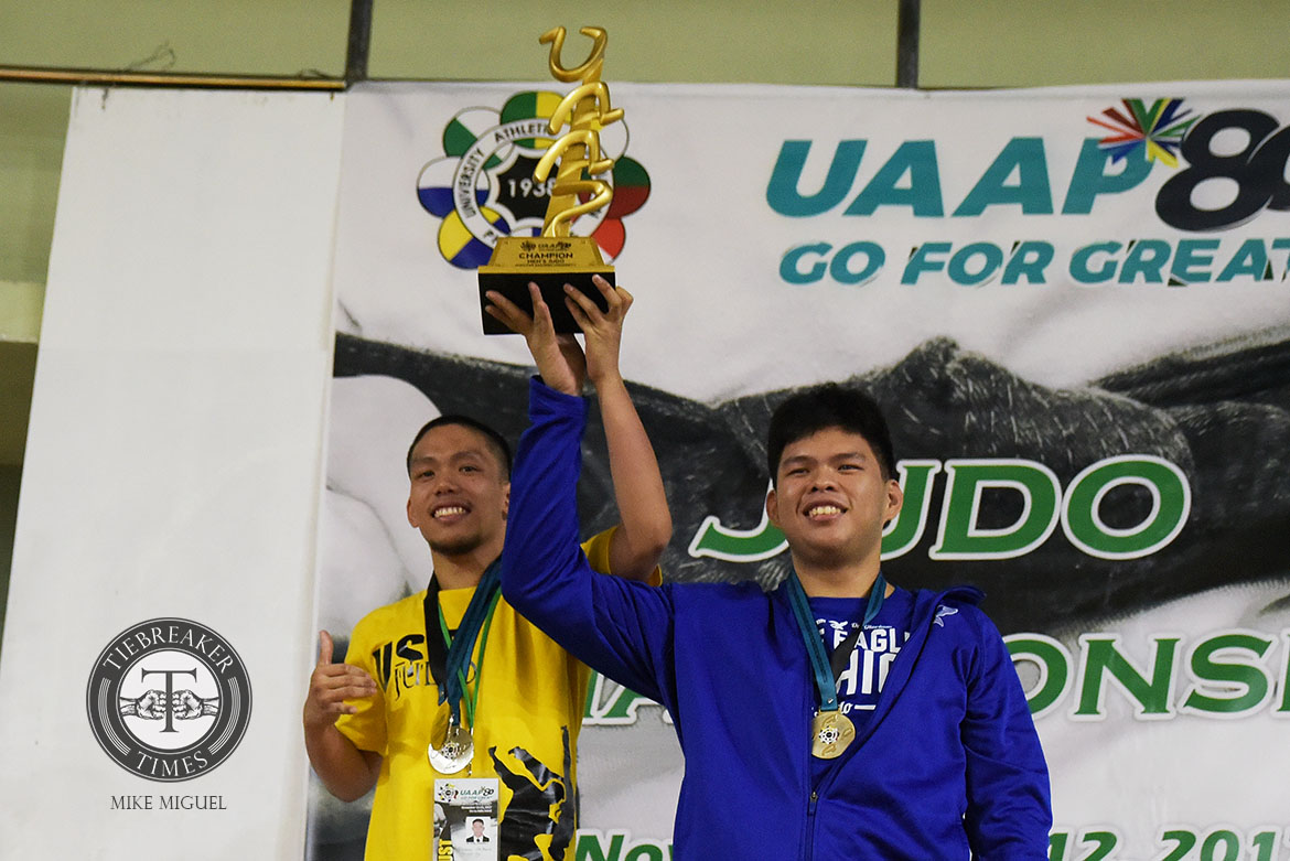 Tiebreaker Times Ateneo, UST declared co-champions of UAAP Men's Judo ADMU DLSU Judo News UAAP UE UP UST  UST Men's Judo UP Men's Judo UE Men's Judo UAAP Season 80 Men's Judo UAAP Season 80 Harmon Tuazon Gabriel Salazar Eric Uy DLSU Men's Judo Daryl Mercado Ateneo Men's Judo