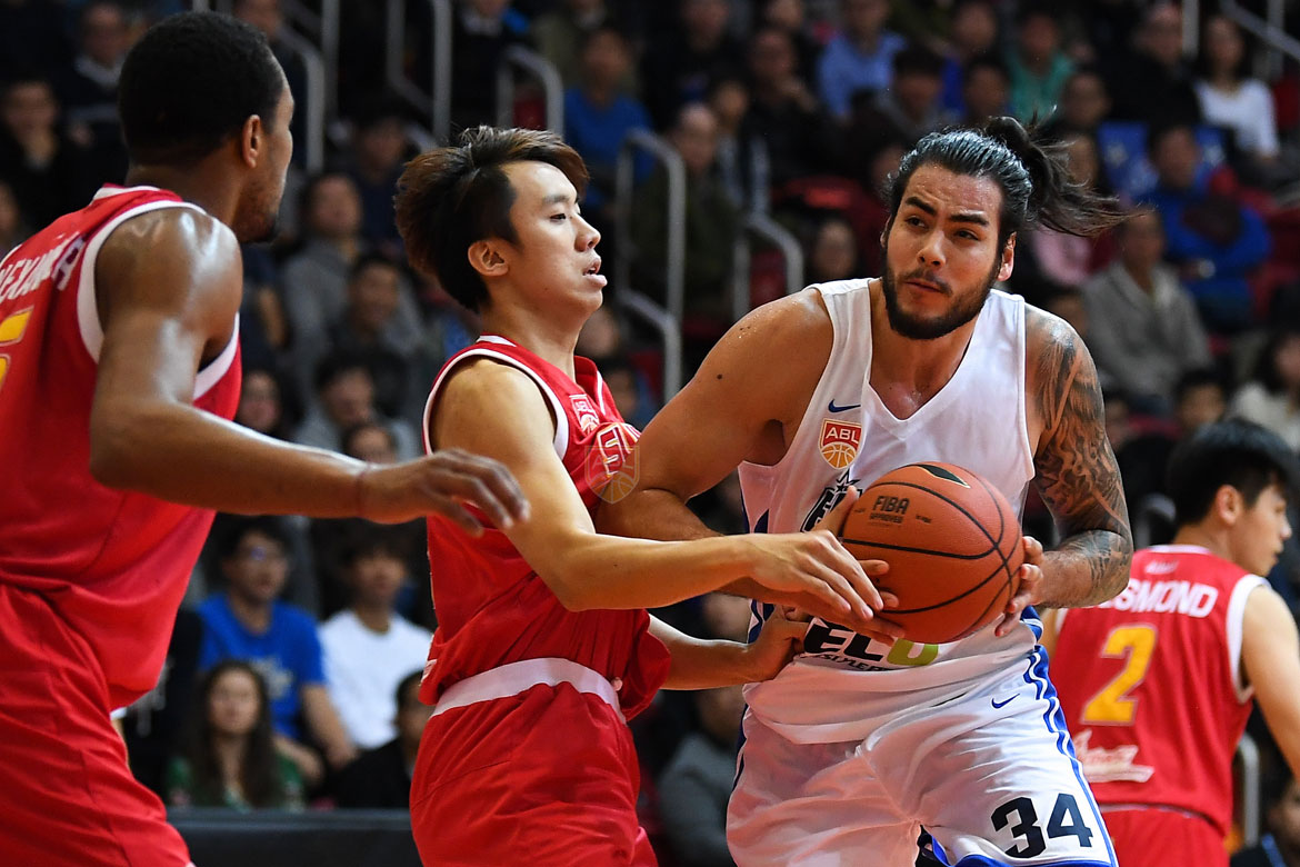 Philippine Sports News - Tiebreaker Times Christian Standhardinger finishes with season-low in Hong Kong's win over Singapore ABL Basketball News  Christian Standhardinger 2017-18 ABL Season