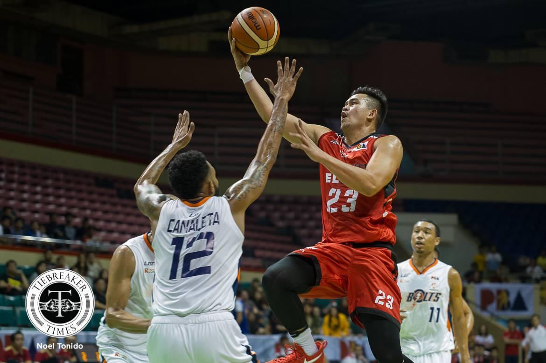 Philippine Sports News - Tiebreaker Times Workhorse Raymar Jose admits being in awe of league veterans Basketball News PBA  Raymar Jose PBA Season 43 Blackwater Elite 2017-18 PBA Philippine Cup