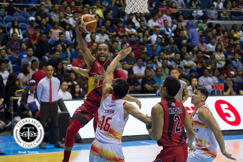 Philippine Sports News - Tiebreaker Times Chris Ross inspired by mom's presence on opening day Basketball News PBA  San Miguel Beermen PBA Season 43 Chris Ross 2017-18 PBA Philippine Cup