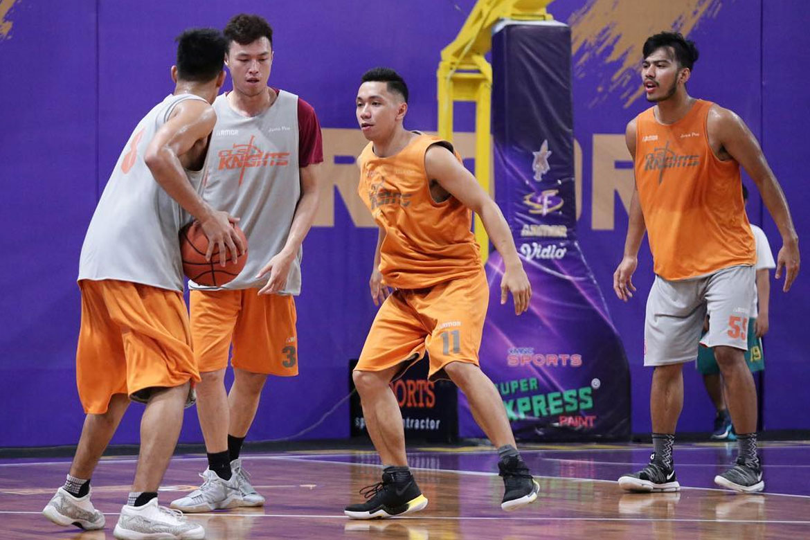 Philippine Sports News - Tiebreaker Times Rudy Lingganay makes ABL return, joins CLS Knights ABL Basketball News  Rudy Lingganay CLS Knights 2017-18 ABL Season