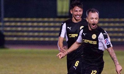 Tiebreaker Times Stephan Schröck's injury time goal gives Ceres first blood against Kaya Football News PFL  Stephan Schrock Roland Muller Risto Vidakovic Ref Cuaresma Kaya FC-Makati Chris Greatwich Ceres-Negros FC 2017 PFL Season