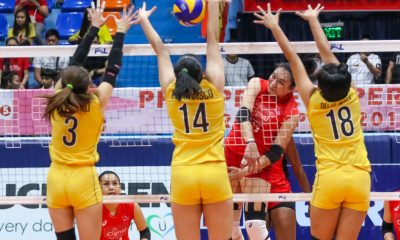Tiebreaker Times Cignal HD claims fourth seed, sends Victoria Sports-UST packing News PSL UST Volleyball  Victoria Sports-UST Tigresses UST Women's Volleyball Royse Tubino Mary Pacres Mami Miyashita John Paul Dolorias George Pascua Cignal HD Spikers Chie Saet Carla Sandoval Alexis Matthews 2017 PSL Season 2017 PSL Grand Prix
