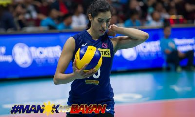 Philippine Sports News - Tiebreaker Times Grieving MJ Perez shows ultimate display of professionalism News PSL Volleyball  Ramil De Jesus Maria Jose Perez F2 Logistics Cargo Movers Chooks-to-Go Cha Cruz 2017 PSL Season 2017 PSL Grand Prix