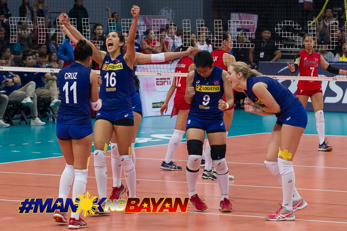 Tiebreaker Times Grieving MJ Perez shows ultimate display of professionalism News PSL Volleyball  Ramil De Jesus Maria Jose Perez F2 Logistics Cargo Movers Chooks-to-Go Cha Cruz 2017 PSL Season 2017 PSL Grand Prix