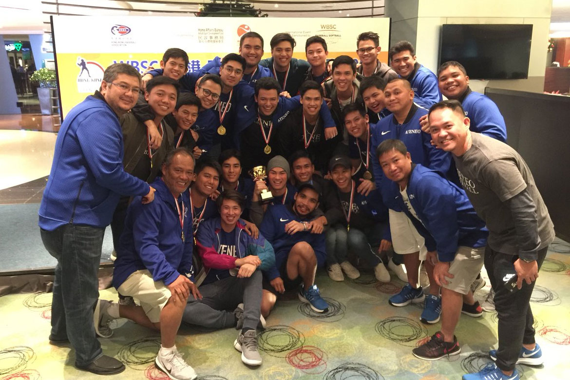 Tiebreaker Times Ateneo defends WBSC Hong Kong Open crown ADMU Baseball News  Randy Dizer Paulo Macasaet Marquis Alindogan Marco Mallari Dino Altomonte Ateneo Baseball 2017 WBSC Hong Kong International Open