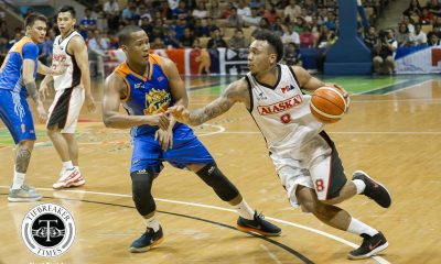 Philippine Sports News - Tiebreaker Times Sidney Onwubere does not back down against Calvin Abueva in debut Basketball News PBA  TNT Katropa Sidney Onwubere PBA Season 43 Nash Racela 2017-18 PBA Philippine Cup