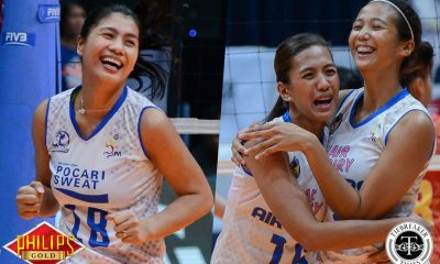 Philippine Sports News - Tiebreaker Times Pocari Sweat joins forces with Air Force for 2018 campaign News PVL Volleyball  Wendy Semana Rico De Guzman Pocari Sweat Lady Warriors Philippine Air Force Jet Spikers Myla Pablo Joy Cases Jocemer Tapic Jeanette Panaga Jasper Jimenez Elaine Kasilag Dell Palomata ari Yongco 2018 PVL Season