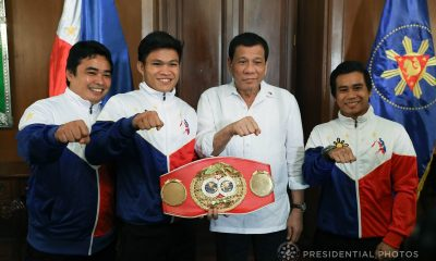 Tiebreaker Times Bob Arum sees Jerwin Ancajas as the 'next Manny Pacquiao' Boxing News  Top Rank Promotions Mark Anthony Barriga Joven Jimenez Jerwin Ancajas Bob Arum