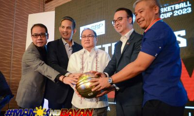 Tiebreaker Times Alan Cayetano, Robbie Puno hope club teams set aside personal interests Basketball Gilas Pilipinas News  Samahang Basketbol ng Pilipinas Robbie Puno Peter Cayetano 2023 FIBA World Cup