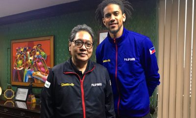 Tiebreaker Times 'Exemplary' Gabe Norwood rewarded with own Chooks-to-Go store Basketball Gilas Pilipinas News  Ronald Mascarinas Gabe Norwood Chooks-to-Go