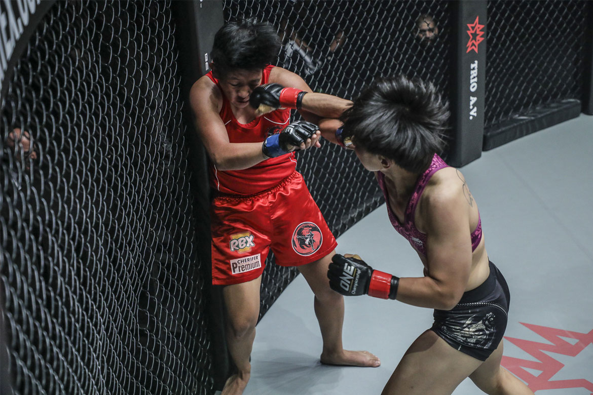 Philippine Sports News - Tiebreaker Times All Filipino fighters finished in Warriors of the World Mixed Martial Arts News ONE Championship  Team Lakay Rome Trinidad Rabin Catalan ONE: Warriors of the World Jimmy Yabo April Osenio