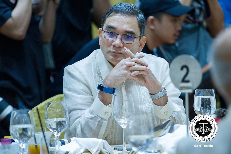 Philippine Sports News - Tiebreaker Times Incoming chairman vows to continue PBA's relevance Basketball News PBA  Ramoncito Fernandez PBA Season 43 NLEX Road Warriors 2017-18 PBA Philippine Cup